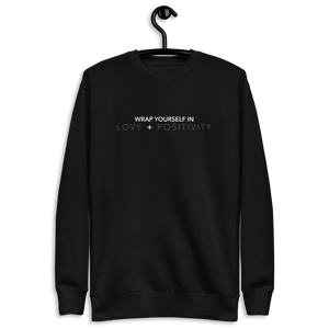 Open image in slideshow, WRAP YOURSELF sweatshirt (unisex)