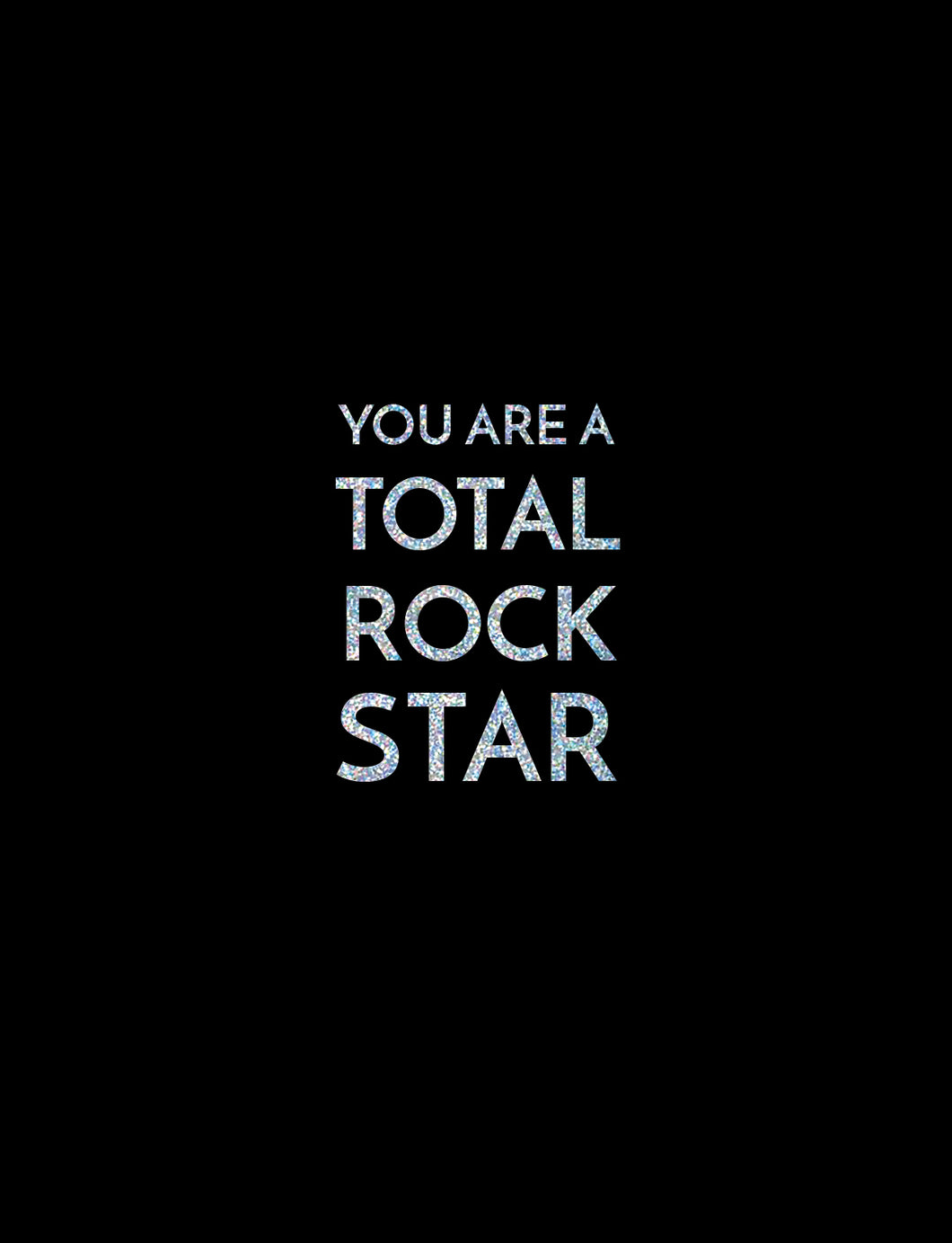Congrats - Total Rock Star Card