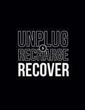 Get Well - Unplug Recharge Recover  Card - Gia Graham