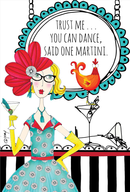 Birthday Card You Can Dance Dolly Mama