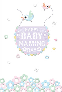 Baby Card Happy Baby Naming