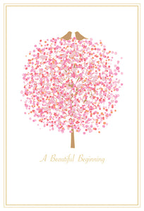 Wedding Card A Beautiful Beginning - Cardmore
