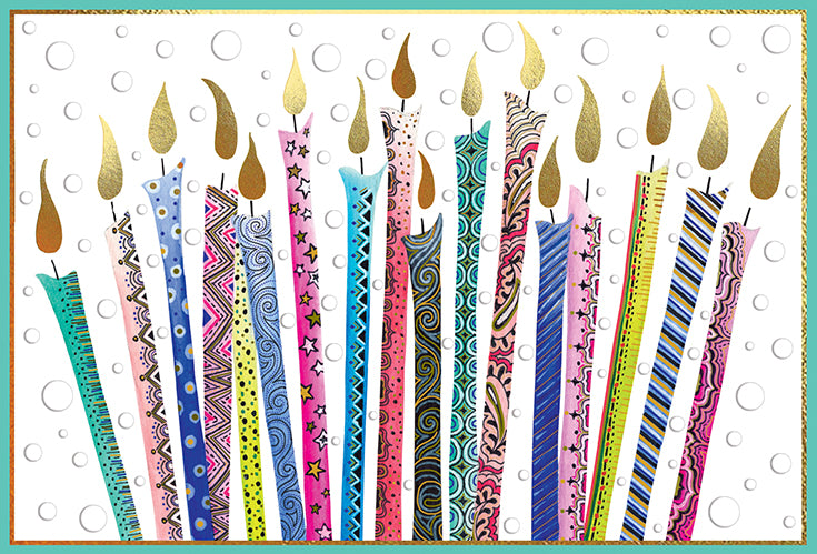Birthday Card Candles Jane