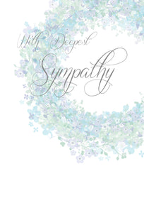 Sympathy Card In out thoughts