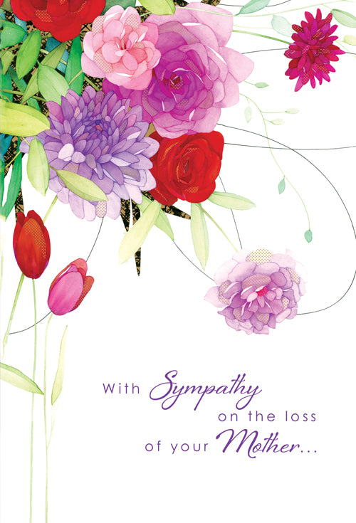 Sympathy Card Loss of Mother