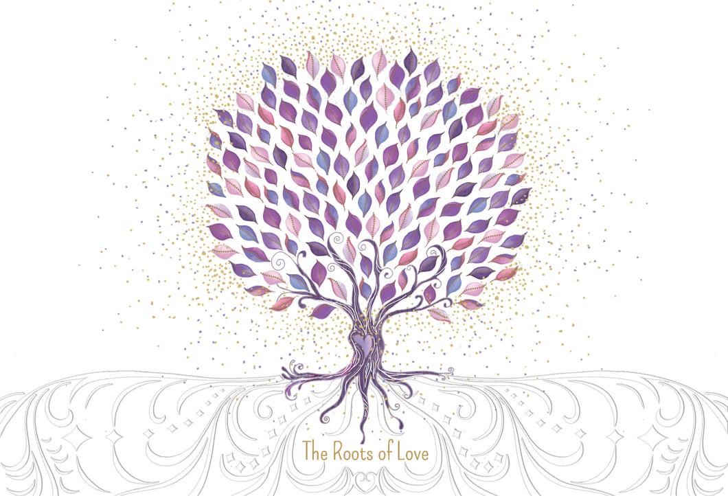 Wedding Card The Roots of Love Two Twenty Two