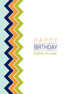 Birthday Father In Law Card