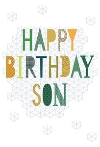 Birthday Son Card Proud and Happy