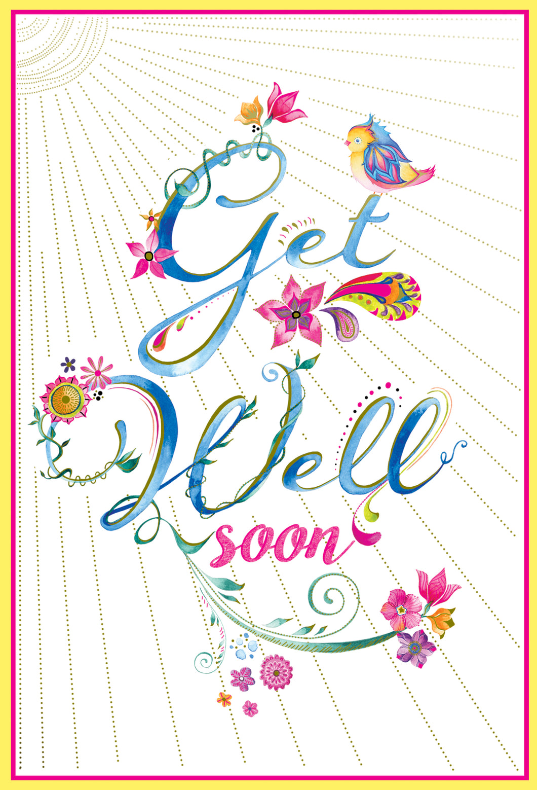 Get Well Card Get well Soon Jane