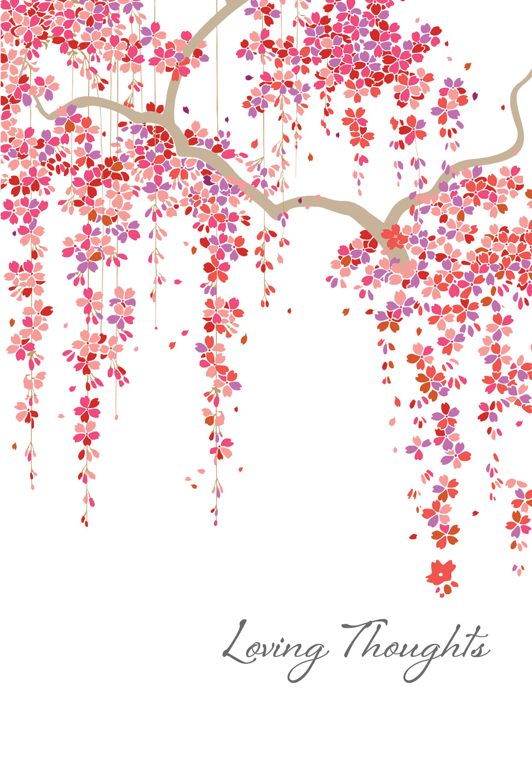 Sympathy Card Loving Thoughts