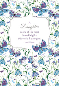 Birthday Daughter Card Most Beautiful