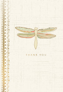 Thank You Card Dragonfly