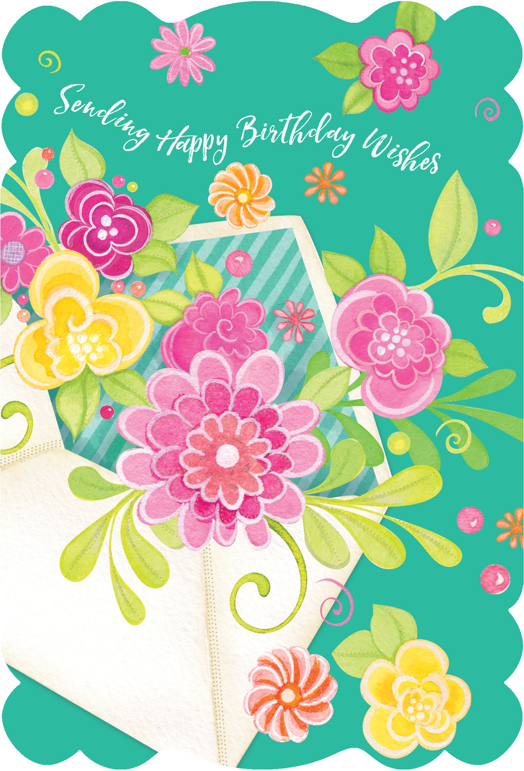 Birthday Card Sending Happy Birthday Wishes Sienna's Garden