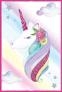 Birthday Card Unicorn Jane