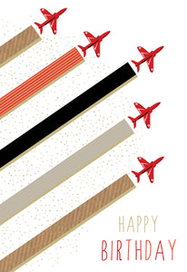 Birthday Card Airplanes Sara Miller