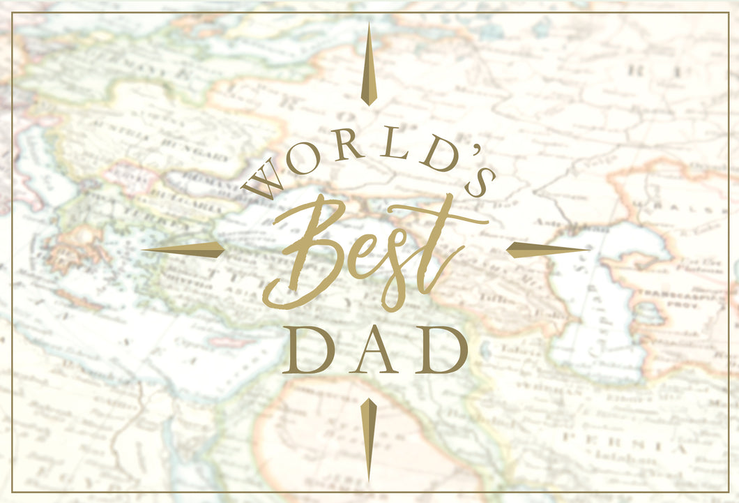 Birthday Father Card World's Best Dad