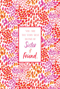 Birthday Sister Card Sister & Friend