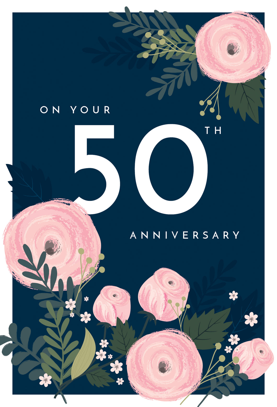 On Your 50th Anniversary Card