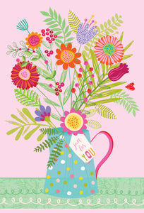Get Well Card Recovery A Bouquet