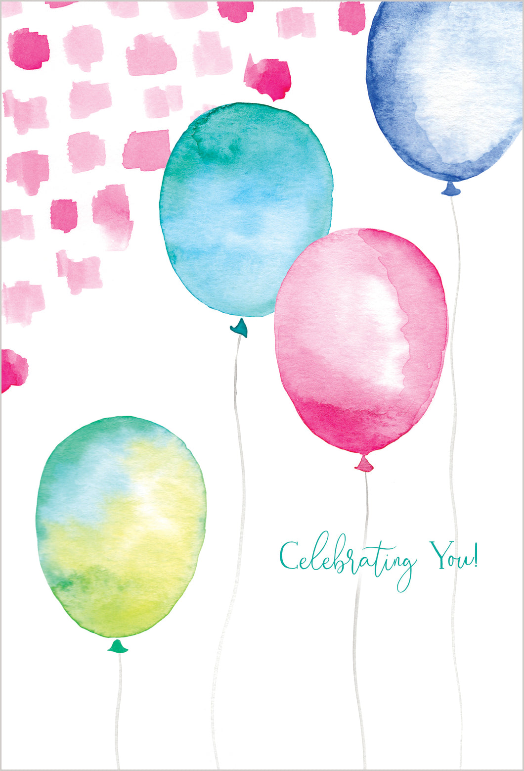 Birthday Card Balloons Happy Buddha