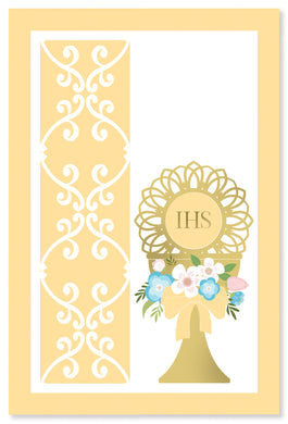 Communion Card IHS