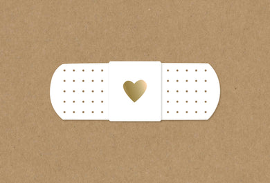 Get Well Card Bandage Kraft