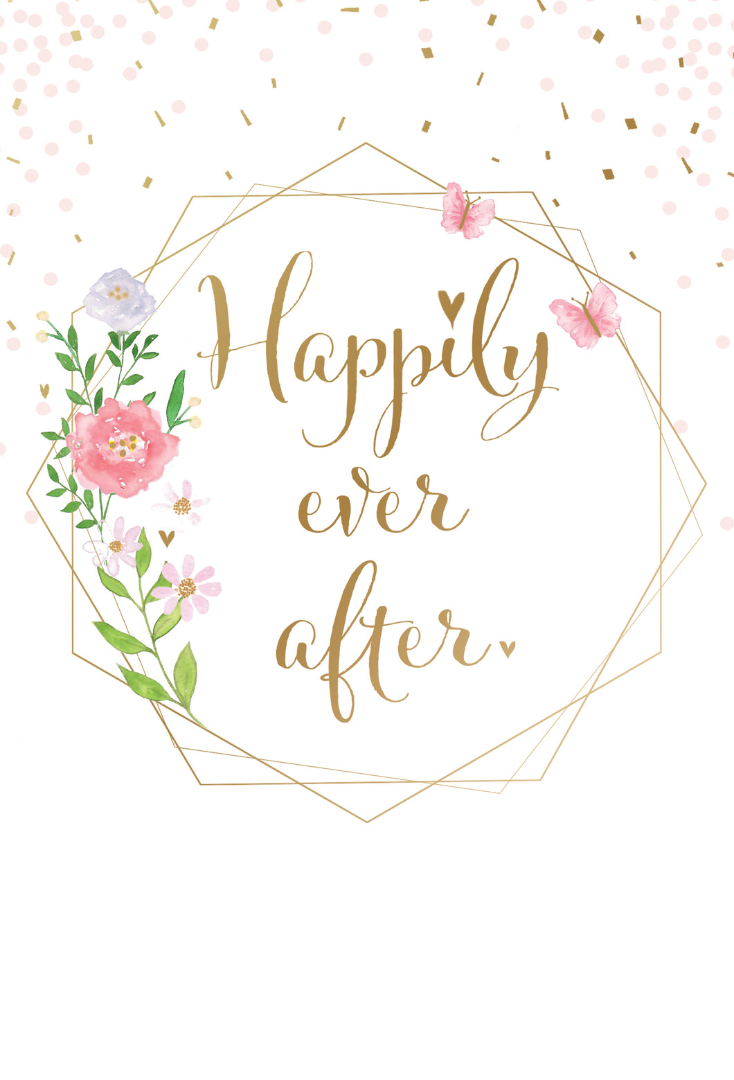 Wedding Card Happily Ever After