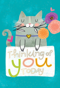 Thinking Of You Kitten Thinking Of You Card