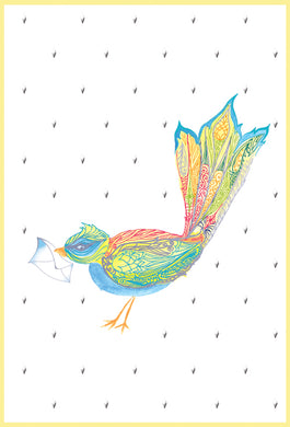 Thank You Card Bird Jane - Cardmore