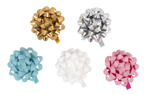 Matte Multiloop Bows Set of 5
