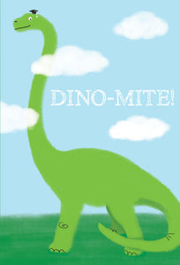 Graduation Card Elementary School Dino-Mite