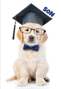Graduation Card Son Dog