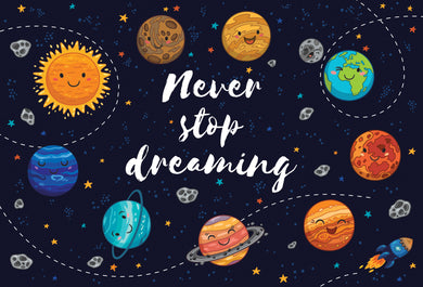Graduation Card Elementary Never stop dreaming