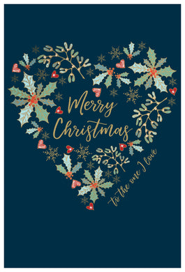 Merry Christmas to the one I love - Christmas Card - One I love