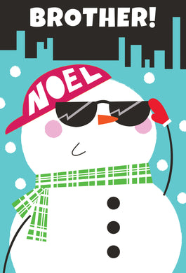 Brother Noel - Christmas Card