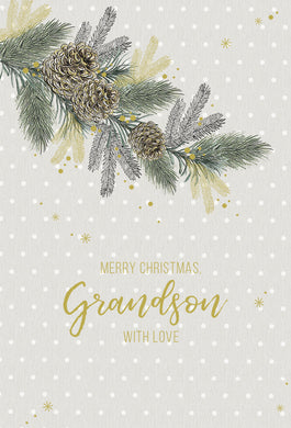 Grandson - Christmas Card