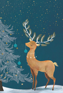 Beautiful Reindeer - Christmas Card