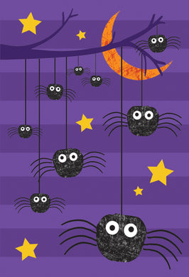 Spider Branch Halloween Card
