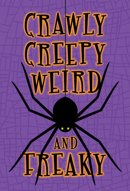 Creepy Crawly Halloween Card