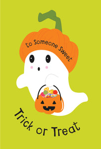 Trick or Treat Someone Special Halloween Card