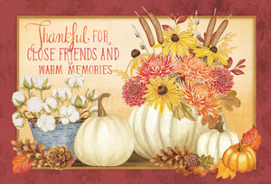 Warm Memories - Thanksgiving card