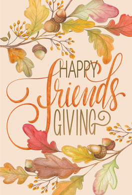 Happy Friends Giving - Thanksgiving card