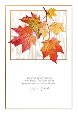 Smell Autumn - Thanksgiving card