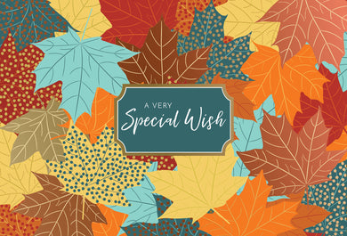 A special Wish  - Thanksgiving card