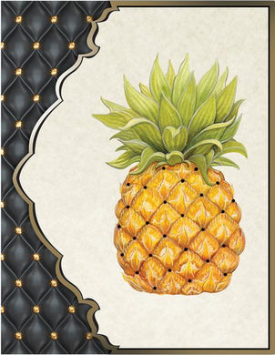 Pineapple Sienna's Garden Purse Pad With Pen Nicole Tamarin