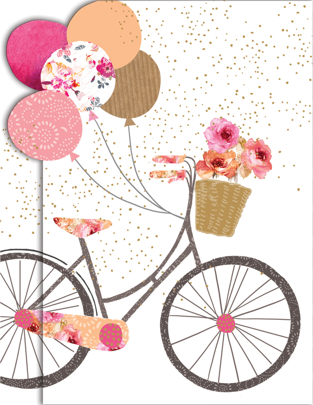 Bike With Balloons Sara Miller Purse Pad