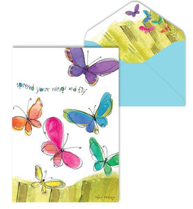 Spread Your Wings Blank Notes Cards 8 cards