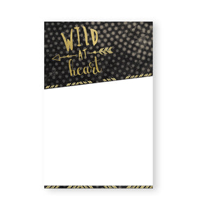 Wild At Heart - Nikki Chu - Note Pads - From Me To You