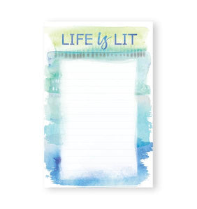Life is Lit - Note Pads - From Me To You