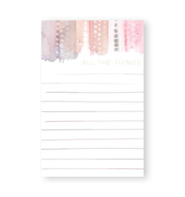 All the Things - Nikki Chu - Note Pads - From Me To You
